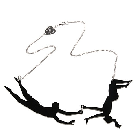 Trapeze Necklace from Tatty Devine $49.95