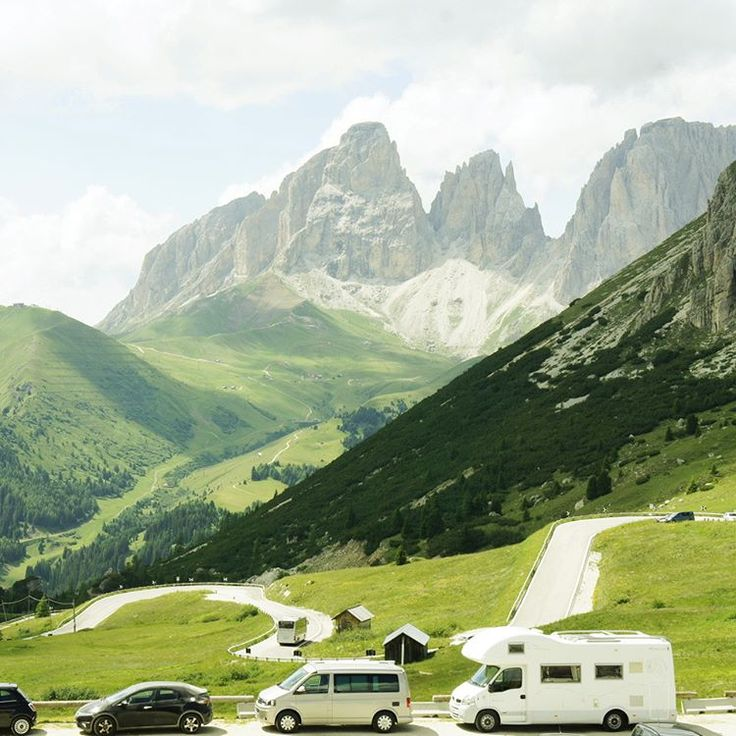 Get in the camper we are going—around the world! #Dolomiti #Dolomites #Tirol #Italy