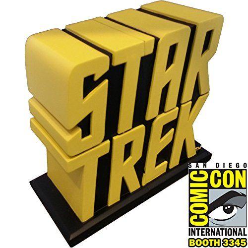 San Diego Comic Con Star Trek Yellow Bookends