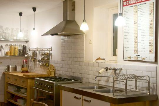 metrotegels keuken wit retro
