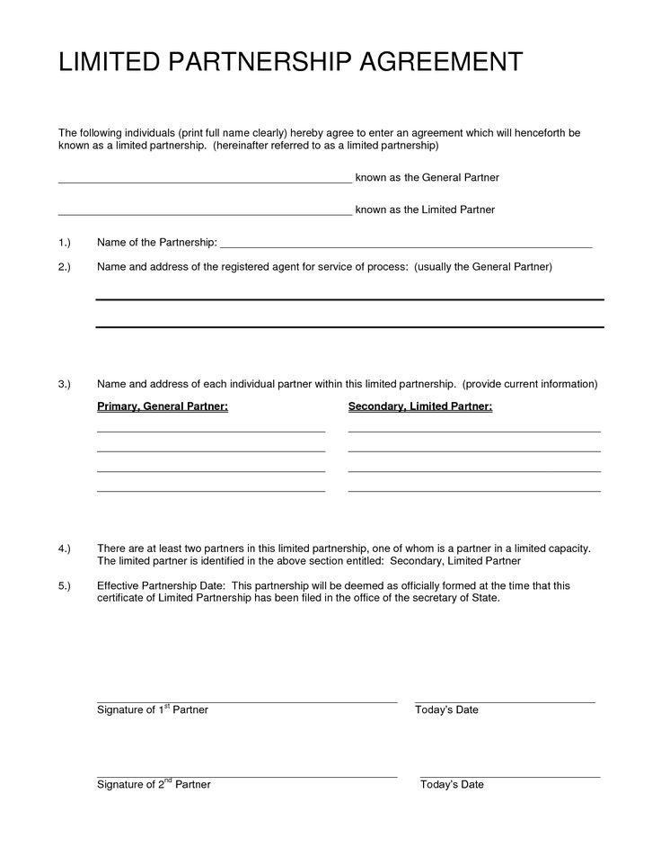 Silent partnership agreement template eliolera partnership agreement template california eliolera pronofoot35fo Gallery