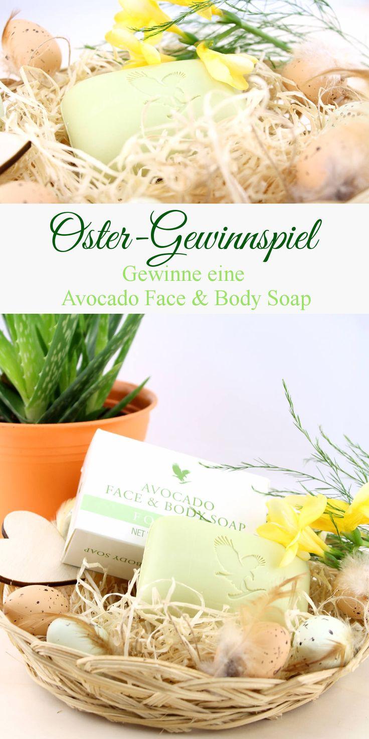 Oster-Gewinnspiel - Gewinne eine Avocado Face & Body Soap - seife - aloe vera - forever living - verlosung