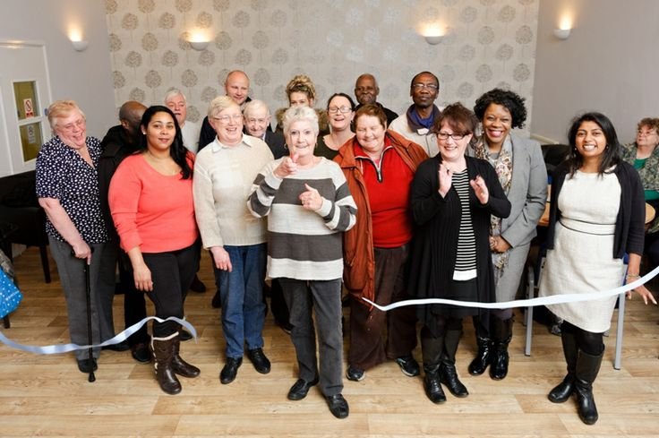 Canning Town residents open new community centre in Ruscoe Road.