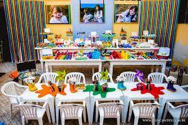 Resultado de imagem para festa infantil tema aquarela