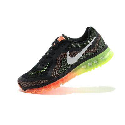 Nike Air Max  2014 Siyah Turuncu Erkek Ayakkabı