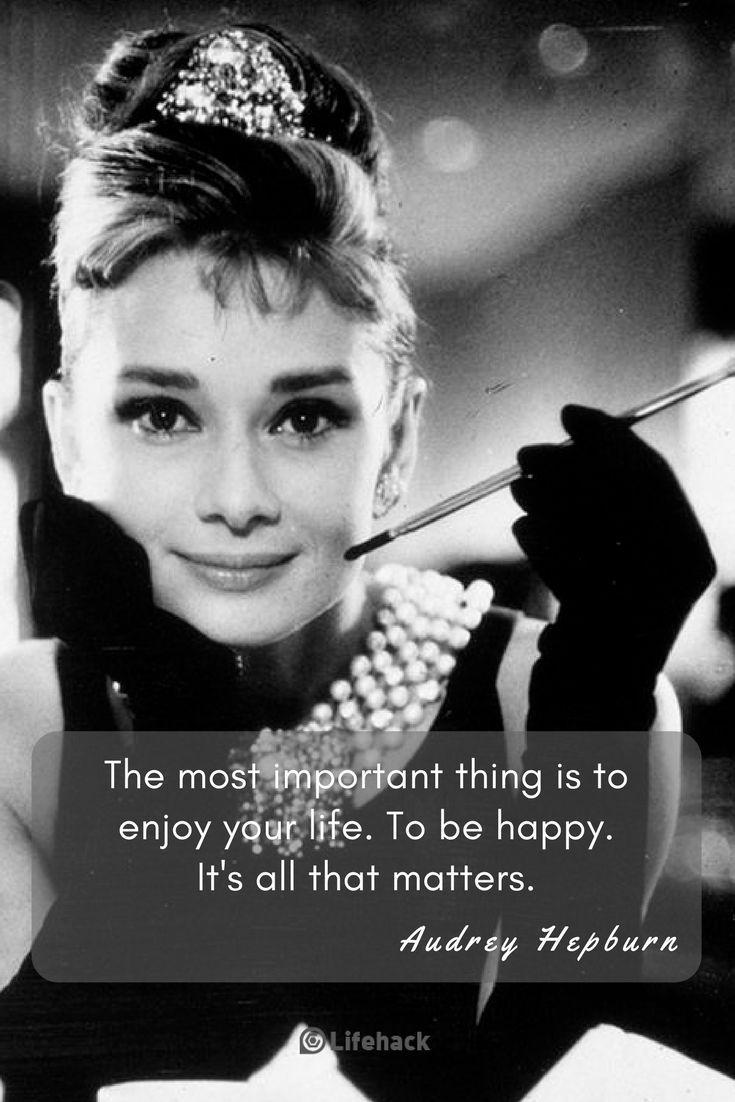 Audrey Hepburn Her 5 Most Inspirational Quotes Audrey Hepburn Audrey Hepburn Quotes Inspirational Quotes