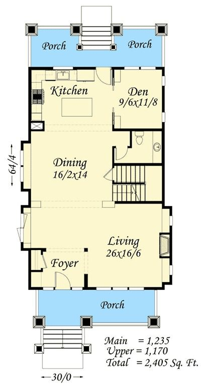 1000 Ideas About Small Cabin Plans On Pinterest: 1000+ Ideas About Bungalow Floor Plans On Pinterest