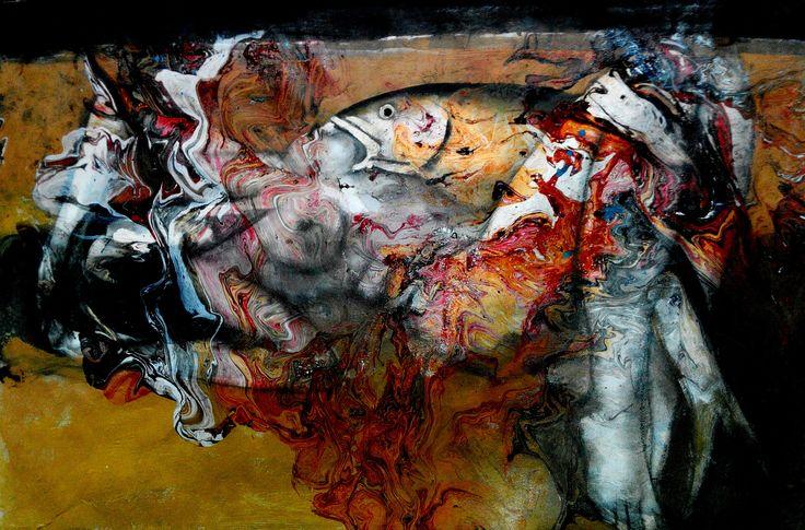 Art work by Hedar Abadi nightmare