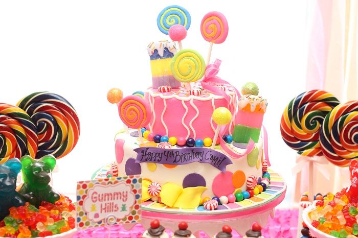 Candyland Cake - #cake #kidspartyBirthday Parties, Candies Land Birthday, Candyland Parties, Candyland Birthday, Amazing Cake, Parties Ideas, Birthday Cake, Candy Land, Birthday Ideas