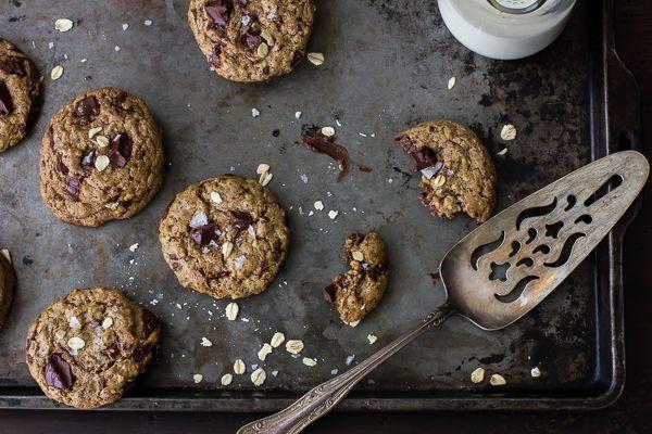 Cookies chocolat/avoine {Vegan and Gluten-Free}