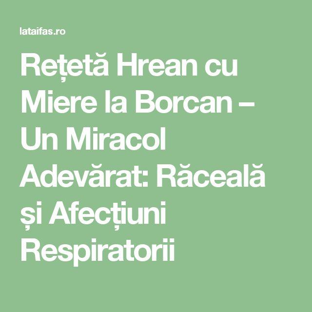 Rețetă Hrean cu Miere la Borcan – Un Miracol Adevărat: Răceală și Afecțiuni Respiratorii