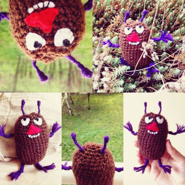Crochet Stinky from Moomin