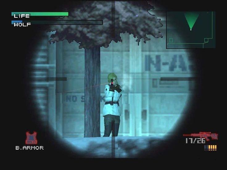 Metal Gear Solid - Konami - 1998 - Playstation