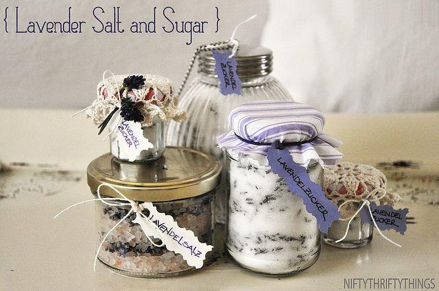 Levendulás só és cukor