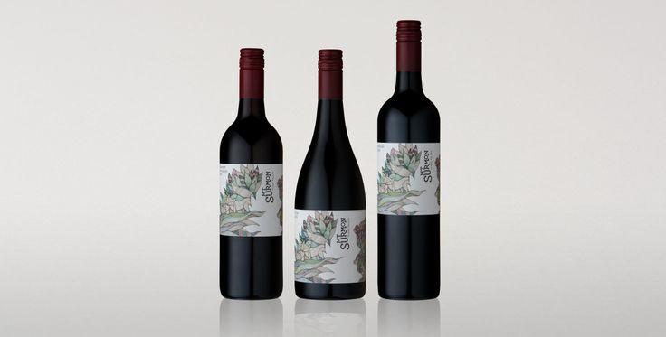 Mt Surmon Wine labels - Voice