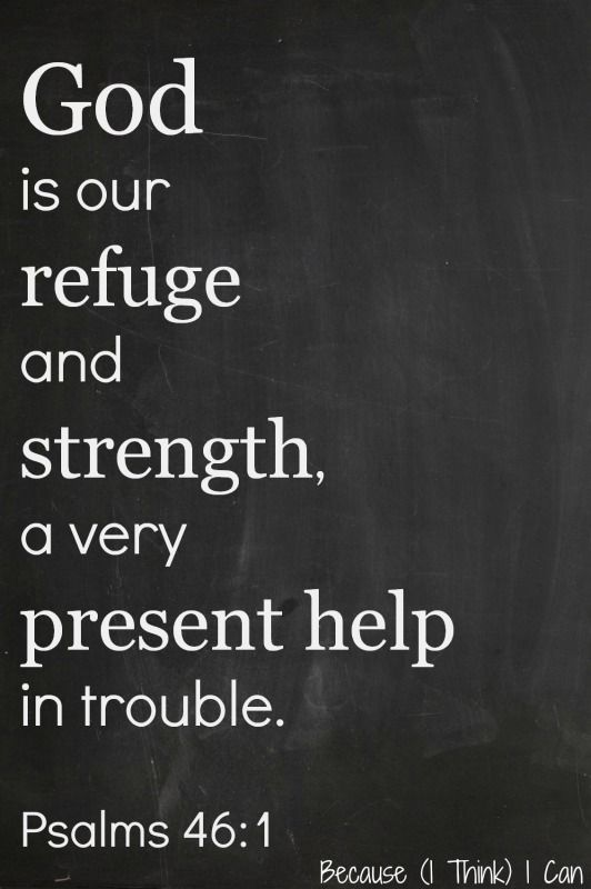 god is a very present help Buy god is our refuge and strength, a very present help psalm 46:1-2 (75x75, kjv) | superior religious inspirational home décor christmas gifts slate | christian.