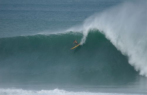 Quiksilver Surfing Competition on the North Shore of Hawaii