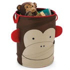 SkipHop Zoo Pop-Up Hamper - Monkey  playroom storage @UrbanBaby