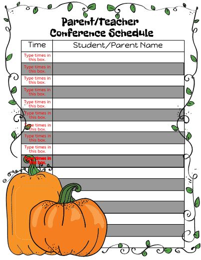14 best Self Management images on Pinterest Behavior, School and - conference schedule template