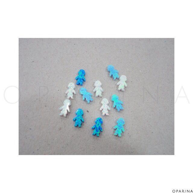 Niños en Opalo 8x13mm. #oparina #opal #boys #niños #opalboys #gemstone #gypsy #bohochic #boho #opalo  #madewithstudio