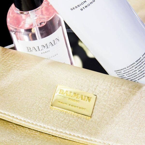 The perfect gift for any occasion. Coming soon, Balmain Hair Couture hair care and styling products. Sign-up to our newsletter to be the first to know. Photo from Balmain Hair Couture