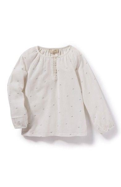 kdimoffphotography.com outfit ideas Main Image - Peek Brook Woven Henley Top (Toddler Girls, Little Girls & Big Girls)