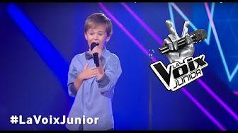 La Voix Junior   Samuel Cormier   Auditions à l'aveugle - YouTube