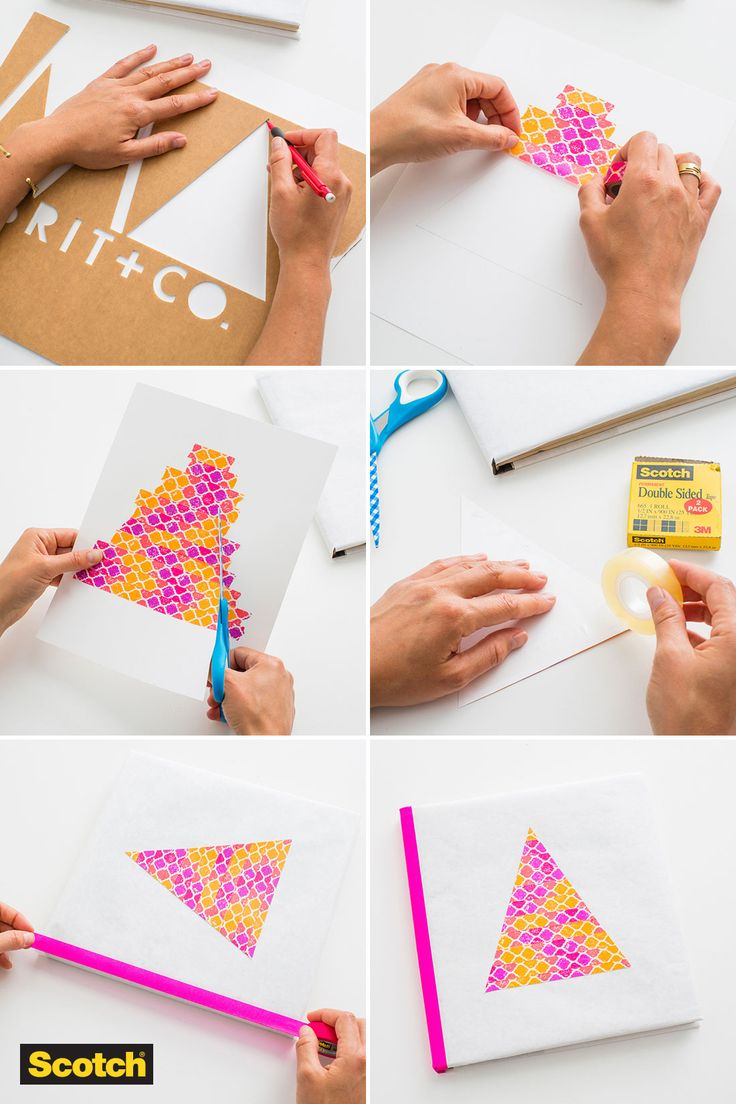 Teach your student to take care of their books and have fun doing it this school year, with this fun book cover idea from Brit + Co.