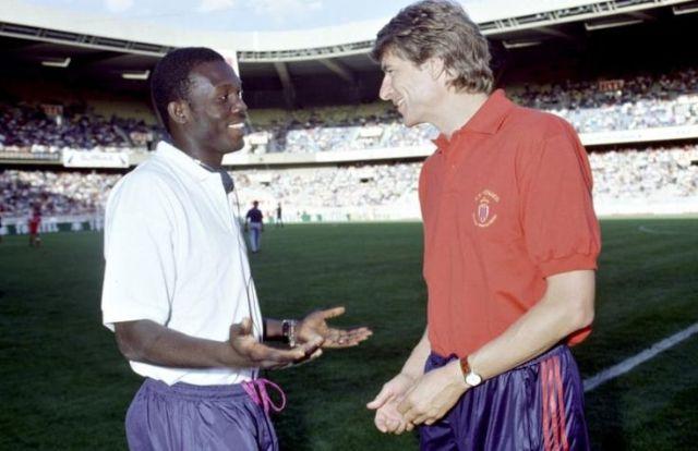 Wenger atakuwepo George Weah akiapishwa?