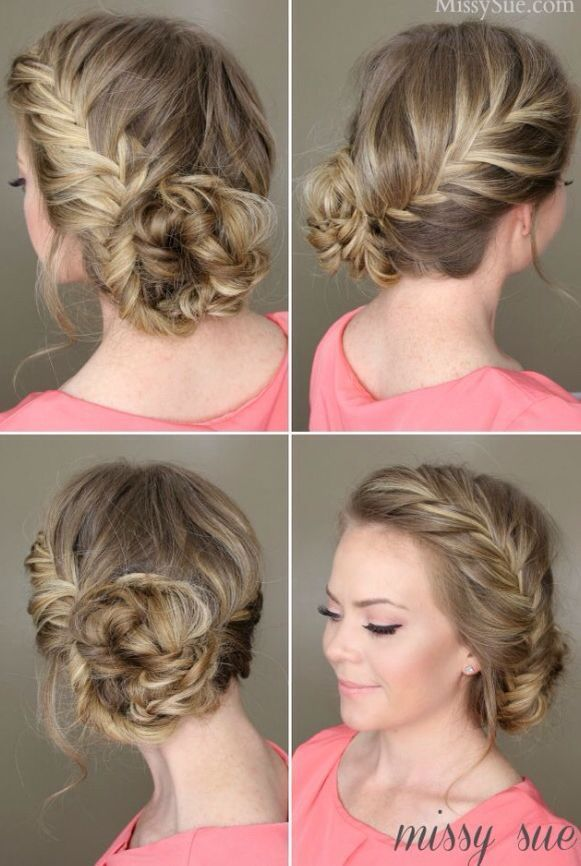 20 Voguish Formal Hairstyles Bun French Twists To Adopt For Your Fresh Stylish Looks - #adopt #formal #french #fresh #hairstyles
