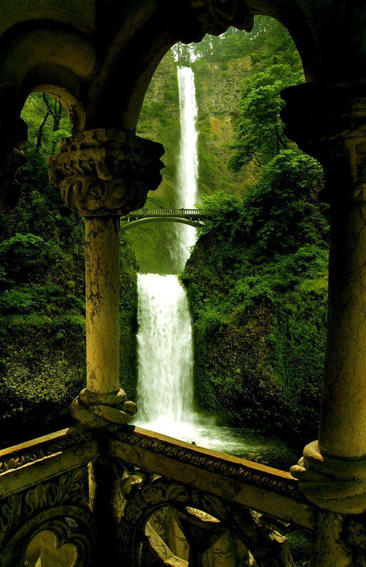 Double Waterfall Oregon - Imgur