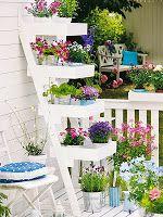 Κήπος Στα Μεσόγεια: Συμβουλές για περισσότερο χώρο και ομορφιά για μικ...