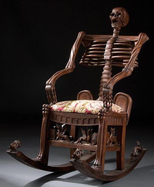 Skeletal Rocking Chair