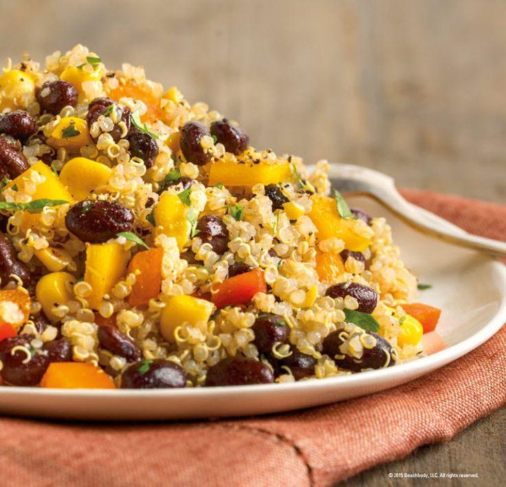 21 Day Fix FIXATE Cookbook. Quinoa Black Bean Salad