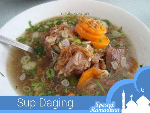 #Sajian Ramadhan: Resep Sup Daging