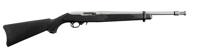Ruger 10/22 Rifle Black Synthetic Satin Stainless
