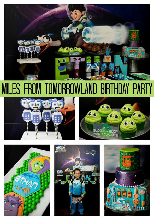 FUN Miles From Tomorrowland Birthday Party! See the entire party on www.prettymyparty.com.