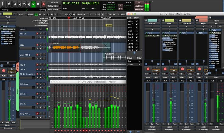 Ardour - the digital audio workstation. Record, Edit, and Mix on Linux, OS X and Windows