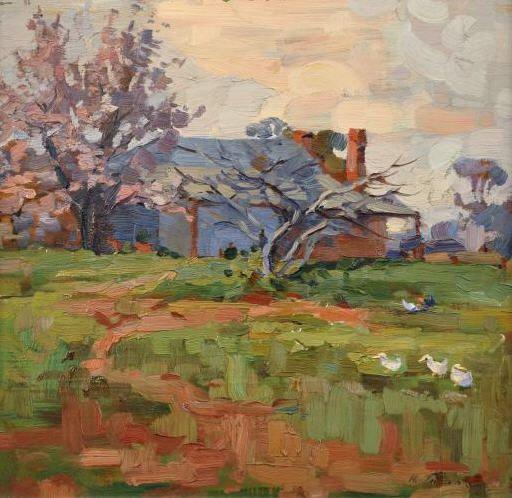 Horace Trenerry - Springtime, 1924