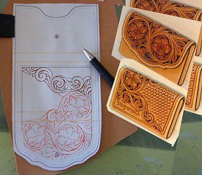 Utillaje de cuero Talla patrones Leathercraft nombre del patrón patrón de caso de la tarjeta | Artesanías, Trabajos en cuero, Herramientas para trabajo en cuero | eBay!