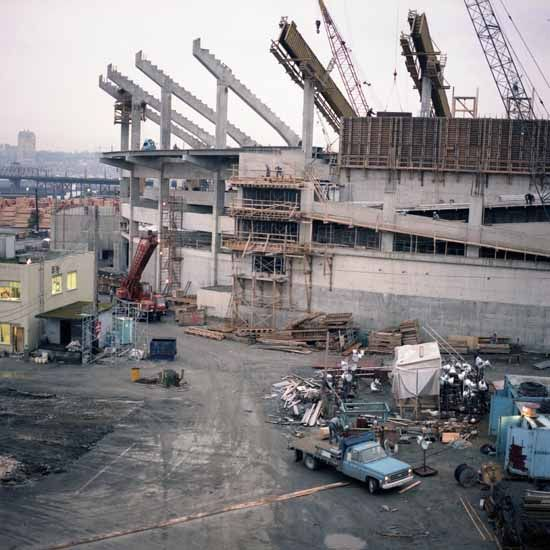 1981: Construction. of BC Place