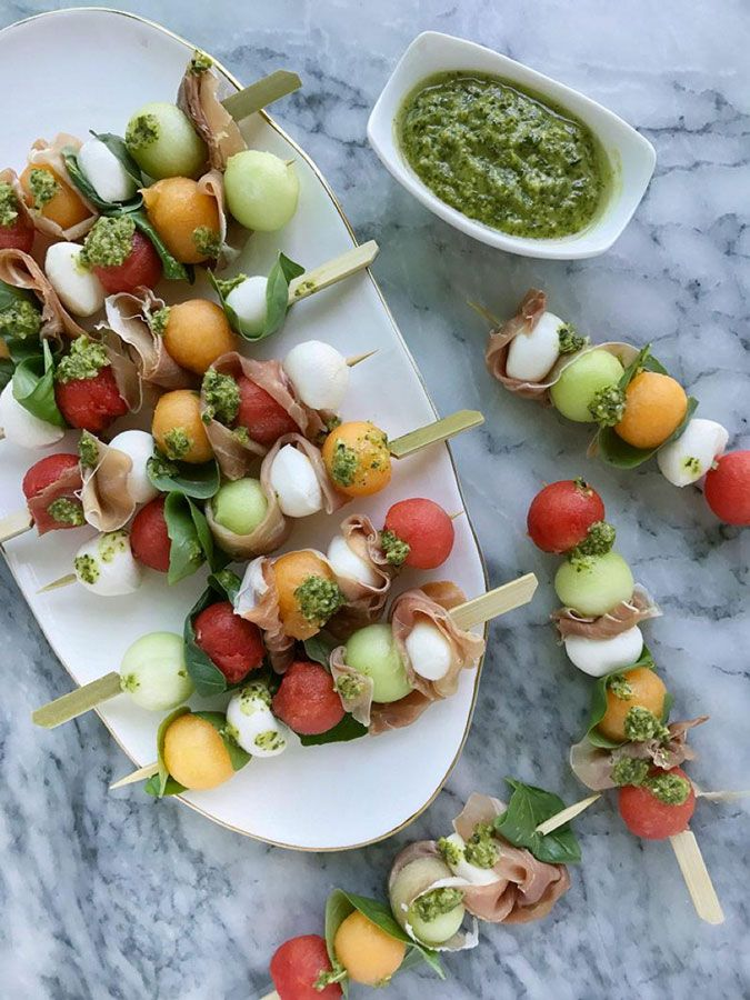 This Melon Caprese Skewer recipe combines two classic Italian ingredient combos with a fresh melon twist to make the ultimate summer appetizer — especially when paired with a chilled glass of Kendall-Jackson Vintner's Reserve Chardonnay.