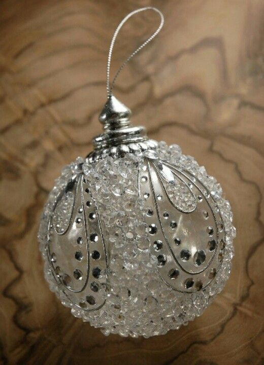 Classy Clear Baubles Christmas Crafts