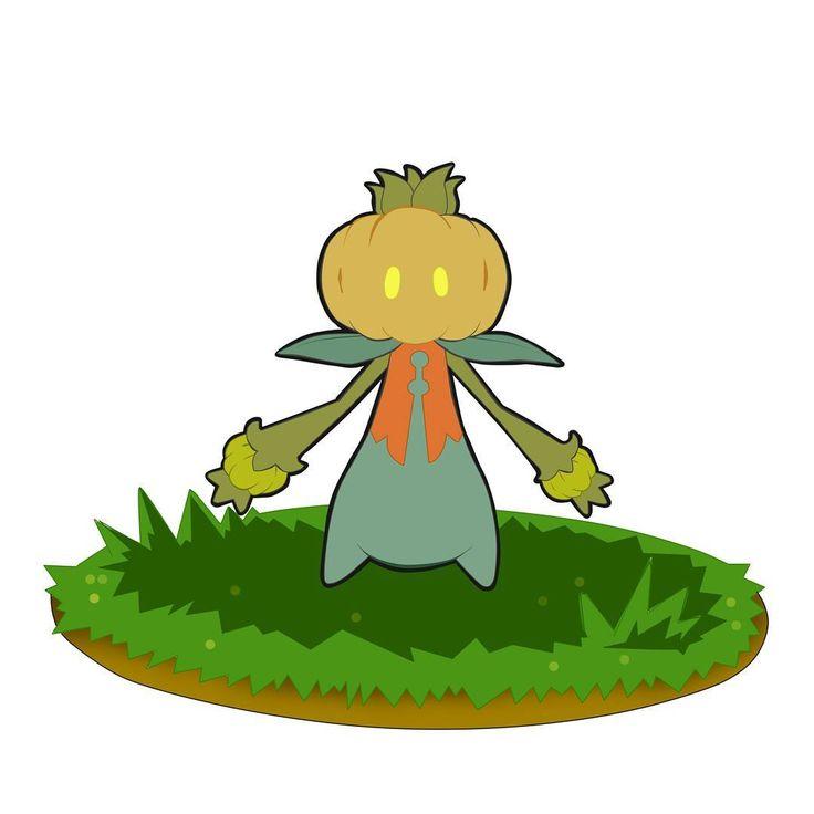 Conozcan a... PRINÑANG, de tipo planta. Es la evolución de ñanga. ¡espero que les guste! #fakemon #fakemonart #pokemon #pokemonart #pokedex