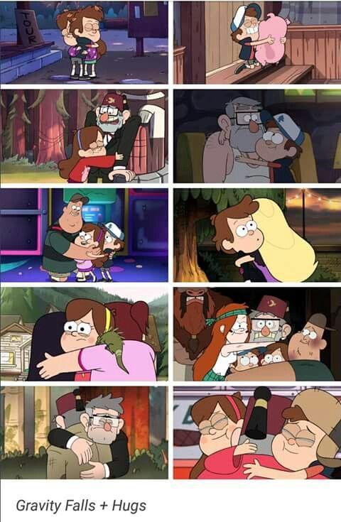 Gravity Falls Hugs