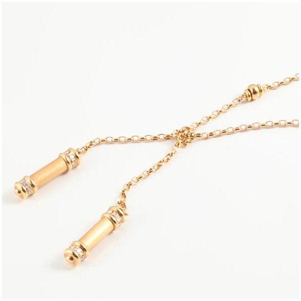 【中古】K18 ダイヤモンド ネックレス/新品同様・極美品・美品の中古ブランド時計を格安で提供いたします。