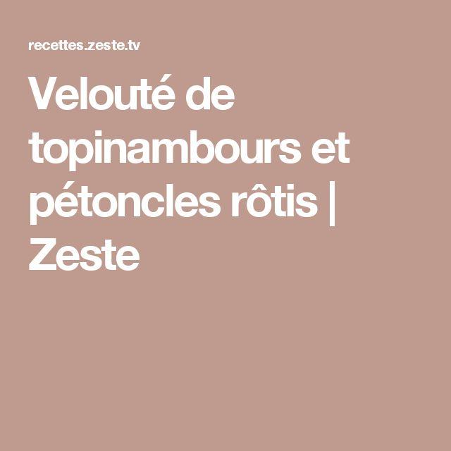 Velouté de topinambours et pétoncles rôtis | Zeste
