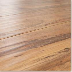 Builddirect lamton 12 mm beveled edge hand scraped for Beveled laminate flooring