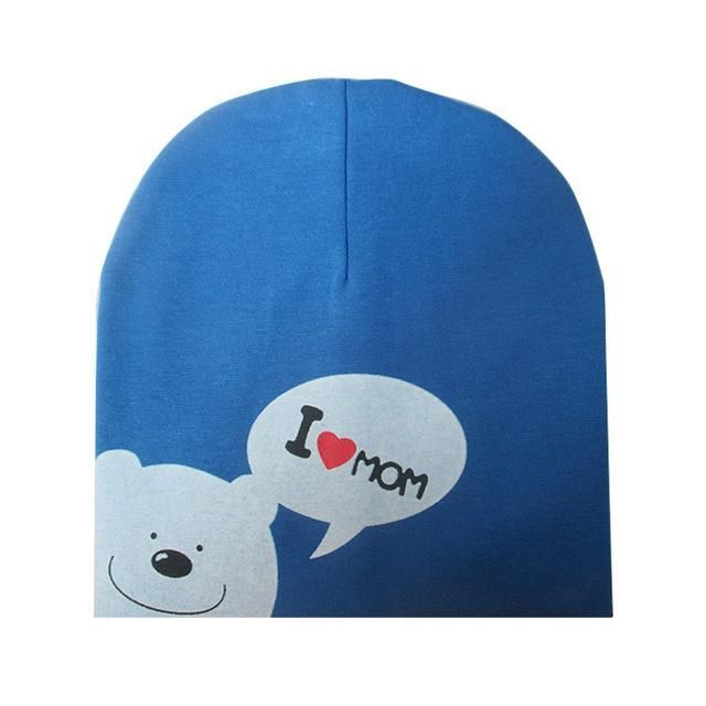 Baby Toddler Winter Hat Cute Bear Crochet Knitted Caps Girl for Infant Boy Kids