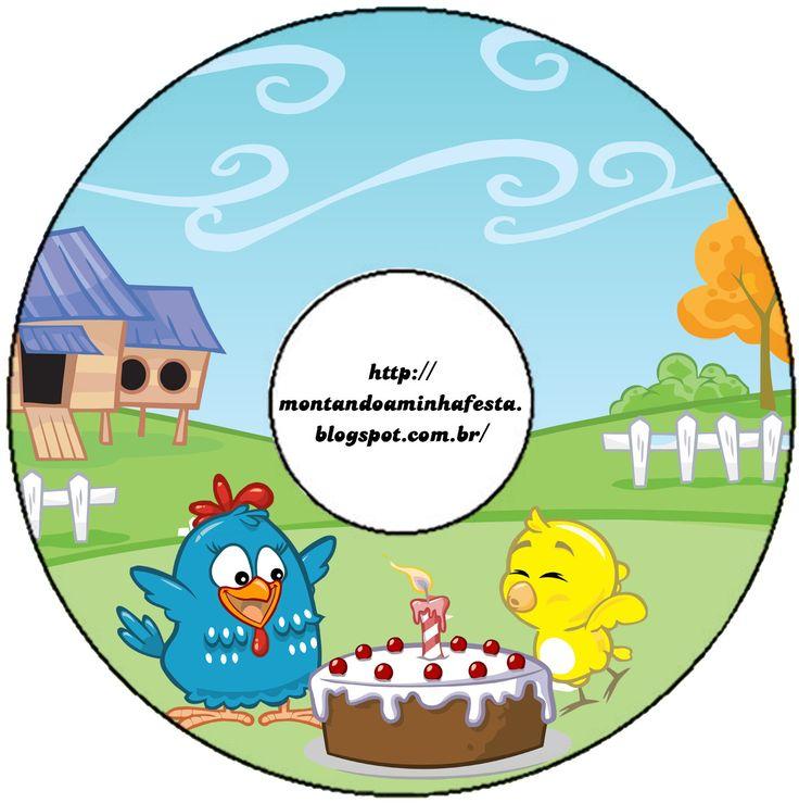 Esse kit é perfeito para você que esta fazendo o aniversário do seu filho tema galinha pintadinha. Nosso kit galinha pintadinha azul é gra...